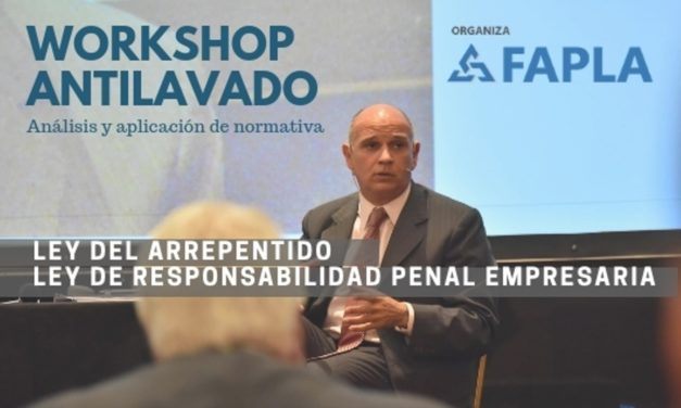 Workshop Antilavado: Inscripción anticipada